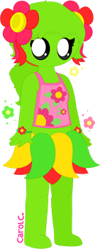 .:Commission:. Heather the Bellossom by Carol2015