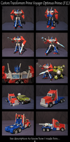 Custom Transformers Prime Voyager F.E. Optimus by AleximusPrime