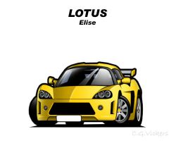 Chibi Lotus Elise by CGVickers