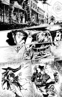 Shotgun Shogun pg1-inks by Hall11820