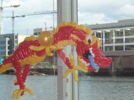 Lucky Chinese Dragon by mrballoonatic