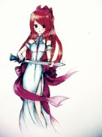 Fairy Tail-Erza by TakeAsmiile