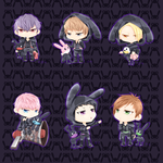 BAP Power Chibis N Matoki by trace-xing