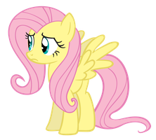 Fluttershy Vector by linksfanponies