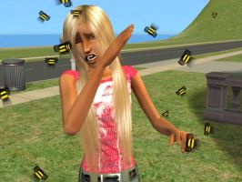 attack of the killer bees by vky23