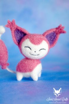 Skitty I by SaniAmaniCrafts