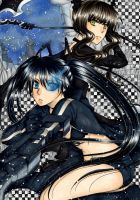 Black Rock Shooter by nayght-tsuki