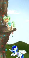 Mountain Flowers by Bluefire-kitteh
