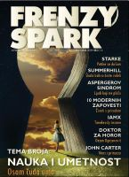 Me On the cover of Frenzy Spark by KingaBritschgi