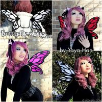 Butterfly Wings by yayacosplay