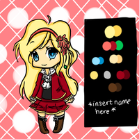 [Auction] Chibi Blondie *SOLD* by Choquickpie
