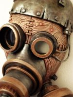Steam Punk Steam Mask III by ben9378