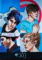 5 Seconds of Summer =) by paopesantezc