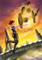 The Force is with Mara Jade by angelsaquero
