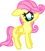 Filly Fluttershy by Sketchstar-mids-sis