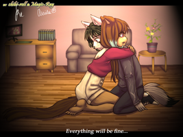 Collab::.Everything will be finr... by Magic-Ray