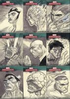 Marvel Masterpieces III Set 1 by jeffwamester