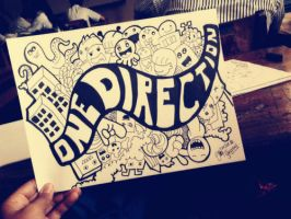 doodle: one direction by YESSIOW