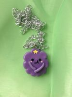 Lumpy Space princess necklace by Saloscraftshop