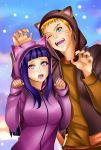 NaruHina Couple T by Eros-lanson