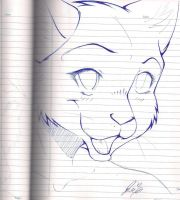 Random Anthro Cat! by SocialButter