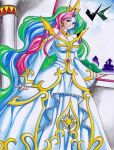 Commission: Princess Celestia by jadenkaiba