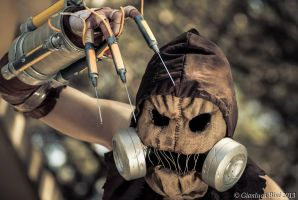 Scarecrow from Arkham Asylum Cosplay by ghingi