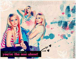 Avril Lavigne Headline by fluorescentlights