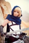 Wings of counterattack - Armin Arlert by xSan-chi