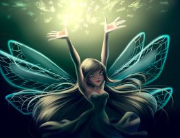 Sky. Real Fairy by fantazyme