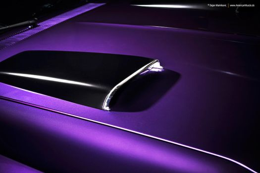 Plum Crazy 1970 Dodge Coronet - Shot 5 by AmericanMuscle