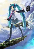 Vocaloid : Hatsune Miku by ClearEchoes