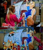 One piece project by lizmogollon