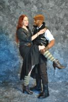 Steam Powered Couple 3 by Strangeknowledge
