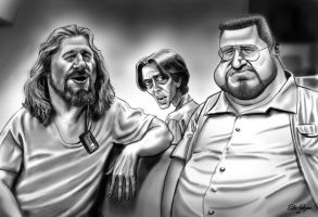 The Big Lebowski by Habjan81