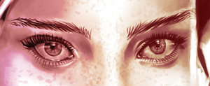 Willow Shields detail by ienjoisushi