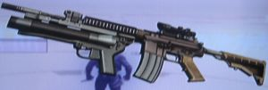 M4 with Scope and XM320 by 00Snake