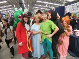 Supanova 2013 - Peter Pan group by fulldancer-alchemist