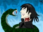 DH SPOILERS  Snape and Nagini by neecolette