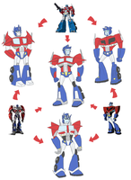 TF - Hexafusion Optimus by Rosey-Raven