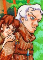 Hodor and Bran by burning-thirteen