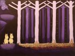 Moomintroll and the Forest by JesmondCat