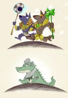 When Nasus meets Anubis by inkinesss