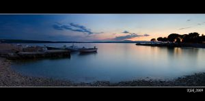Crikvenica night by Klek