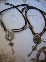 Airship Navigators' Necklaces by CheshireGhost