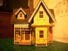 'Up' House by Linkofcamalot