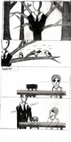 A Crappy Day With Slenderman by DraconicSymphony