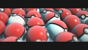Poke Balls by martyisnothere