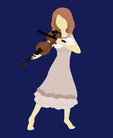 Violinist by CinderIzAwesome