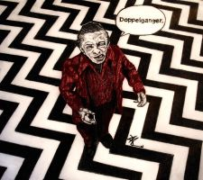 The Man from Another Place (Twin Peaks) by EurekaInHorror